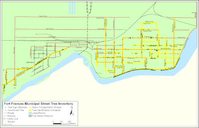 Fort Frances Municipal Street Tree Inventory